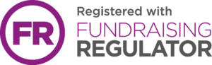 Registered with Fundraising Regulator logo